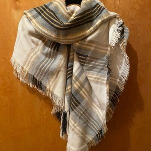 Merona Plaid Banket Scarf